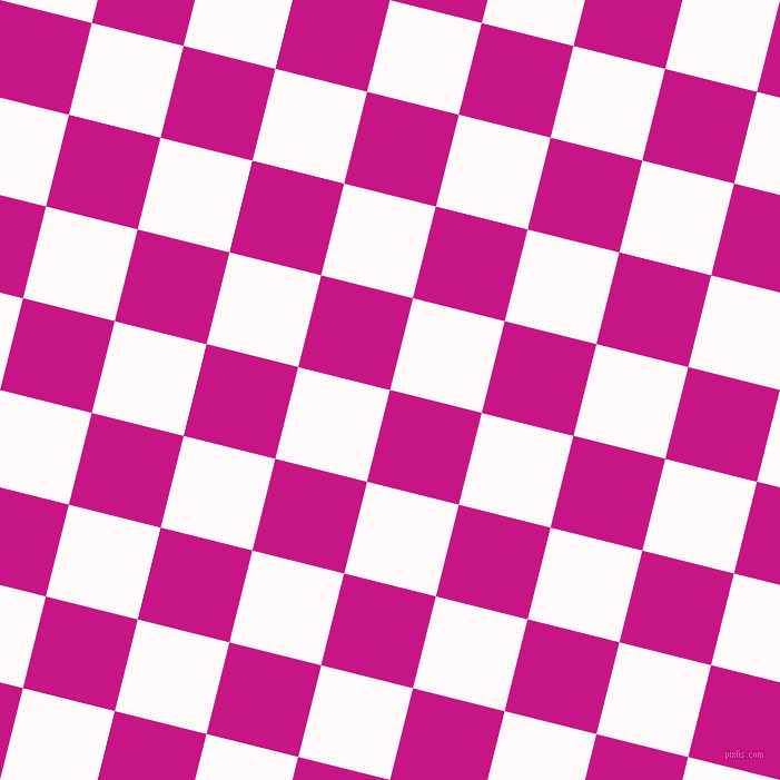 76/166 degree angle diagonal checkered chequered squares checker pattern checkers background, 85 pixel square size, , Medium Violet Red and Snow checkers chequered checkered squares seamless tileable