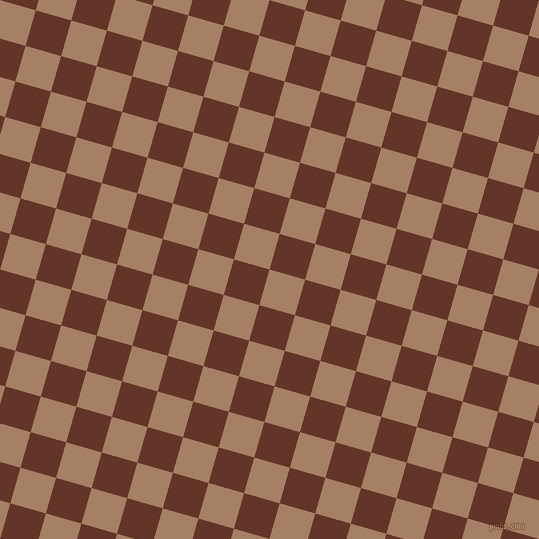 74/164 degree angle diagonal checkered chequered squares checker pattern checkers background, 37 pixel square size, , Medium Wood and Hairy Heath checkers chequered checkered squares seamless tileable
