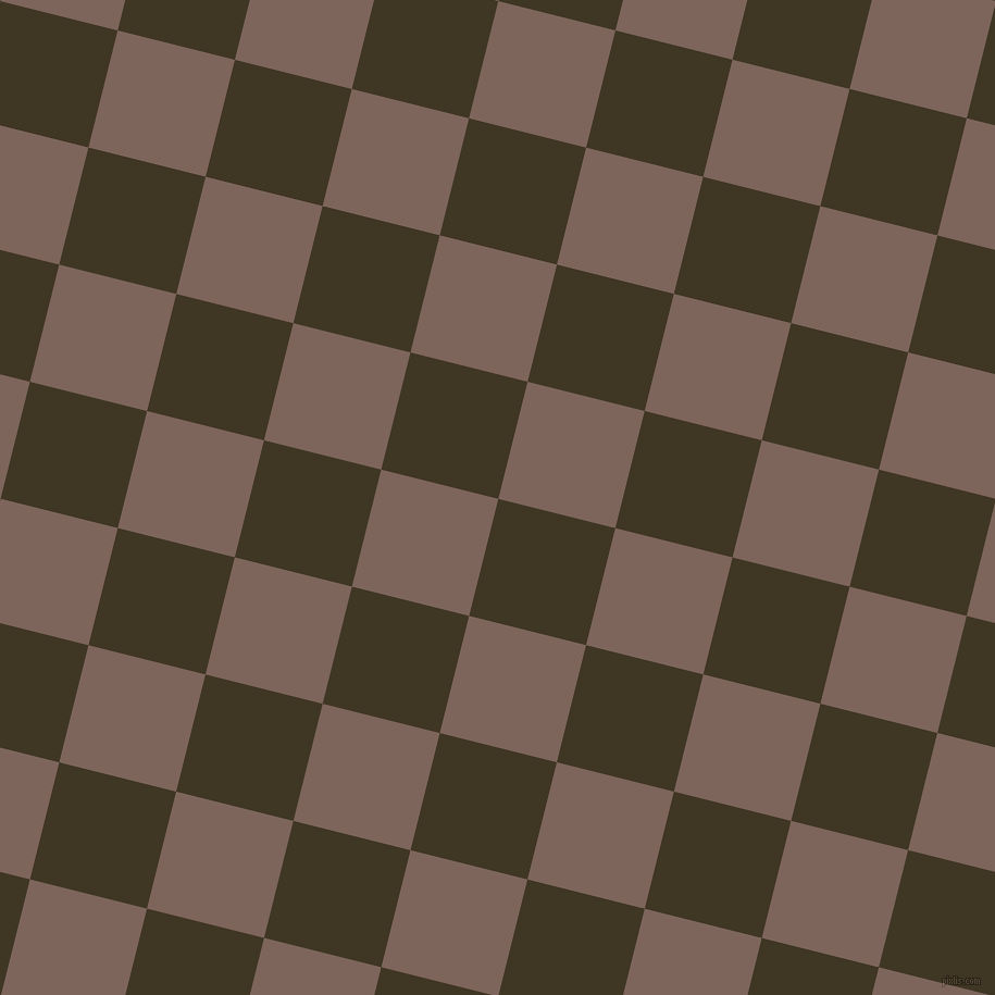 76/166 degree angle diagonal checkered chequered squares checker pattern checkers background, 111 pixel square size, , Mikado and Russett checkers chequered checkered squares seamless tileable