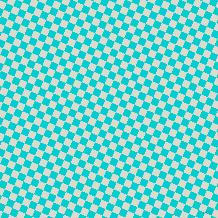 67/157 degree angle diagonal checkered chequered squares checker pattern checkers background, 24 pixel squares size, , Milk White and Dark Turquoise checkers chequered checkered squares seamless tileable