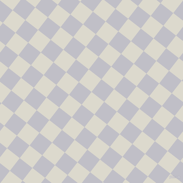 52/142 degree angle diagonal checkered chequered squares checker pattern checkers background, 53 pixel squares size, , Milk White and Ghost checkers chequered checkered squares seamless tileable