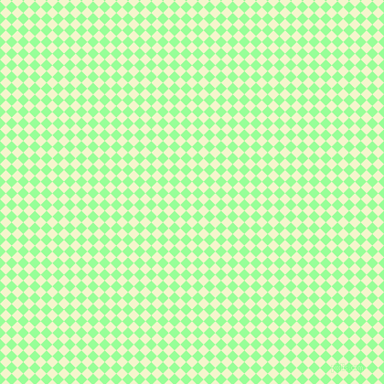 Mimosa and Mint Green checkers chequered checkered squares