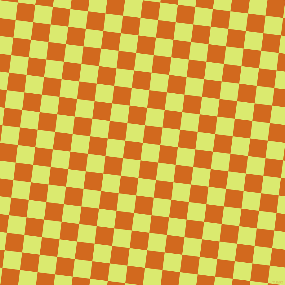 83/173 degree angle diagonal checkered chequered squares checker pattern checkers background, 57 pixel squares size, , Mindaro and Chocolate checkers chequered checkered squares seamless tileable