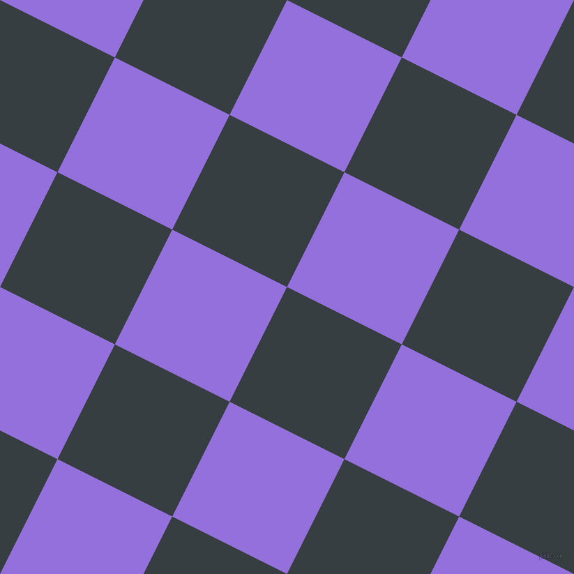 63/153 degree angle diagonal checkered chequered squares checker pattern checkers background, 184 pixel square size, , Mine Shaft and Medium Purple checkers chequered checkered squares seamless tileable
