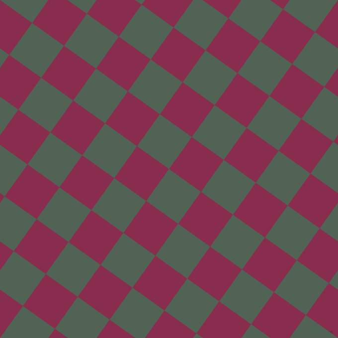 54/144 degree angle diagonal checkered chequered squares checker pattern checkers background, 79 pixel square size, , Mineral Green and Disco checkers chequered checkered squares seamless tileable
