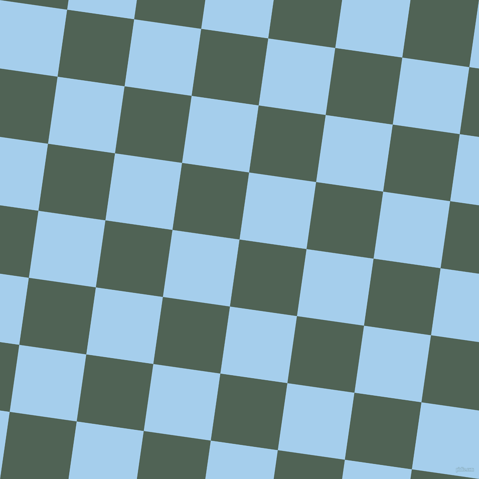 82/172 degree angle diagonal checkered chequered squares checker pattern checkers background, 135 pixel squares size, Mineral Green and Sail checkers chequered checkered squares seamless tileable
