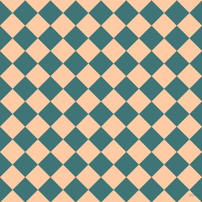 45/135 degree angle diagonal checkered chequered squares checker pattern checkers background, 62 pixel squares size, , Ming and Peach checkers chequered checkered squares seamless tileable