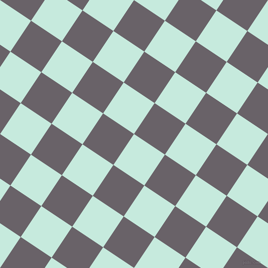 56/146 degree angle diagonal checkered chequered squares checker pattern checkers background, 74 pixel square size, , Mint Tulip and Salt Box checkers chequered checkered squares seamless tileable