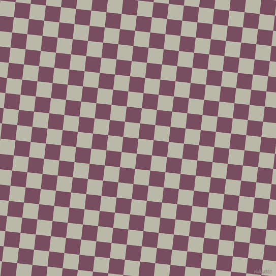 84/174 degree angle diagonal checkered chequered squares checker pattern checkers background, 30 pixel square size, , Mist Grey and Cosmic checkers chequered checkered squares seamless tileable