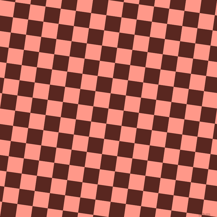 82/172 degree angle diagonal checkered chequered squares checker pattern checkers background, 49 pixel square size, , Mona Lisa and Caput Mortuum checkers chequered checkered squares seamless tileable