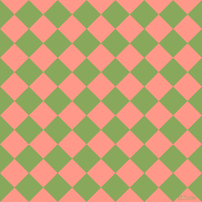 45/135 degree angle diagonal checkered chequered squares checker pattern checkers background, 42 pixel square size, , Mona Lisa and Chelsea Cucumber checkers chequered checkered squares seamless tileable