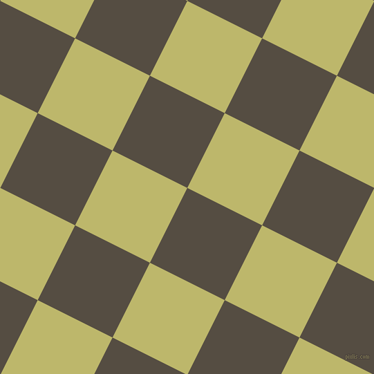 63/153 degree angle diagonal checkered chequered squares checker pattern checkers background, 121 pixel squares size, , Mondo and Dark Khaki checkers chequered checkered squares seamless tileable