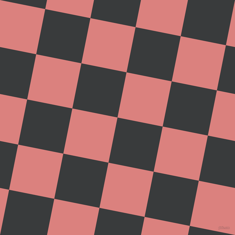79/169 degree angle diagonal checkered chequered squares checker pattern checkers background, 147 pixel squares size, , Montana and Sea Pink checkers chequered checkered squares seamless tileable