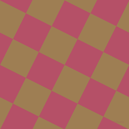 63/153 degree angle diagonal checkered chequered squares checker pattern checkers background, 94 pixel square size, Muesli and Blush checkers chequered checkered squares seamless tileable