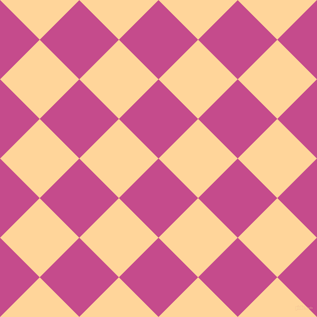 45/135 degree angle diagonal checkered chequered squares checker pattern checkers background, 115 pixel square size, , Mulberry and Caramel checkers chequered checkered squares seamless tileable