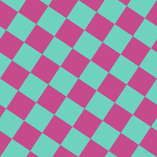 56/146 degree angle diagonal checkered chequered squares checker pattern checkers background, 75 pixel squares size, , Mulberry and Downy checkers chequered checkered squares seamless tileable