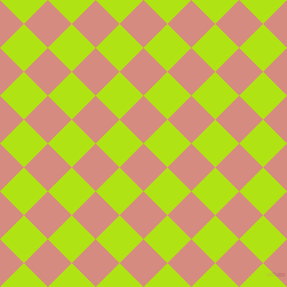 45/135 degree angle diagonal checkered chequered squares checker pattern checkers background, 68 pixel square size, , My Pink and Inch Worm checkers chequered checkered squares seamless tileable