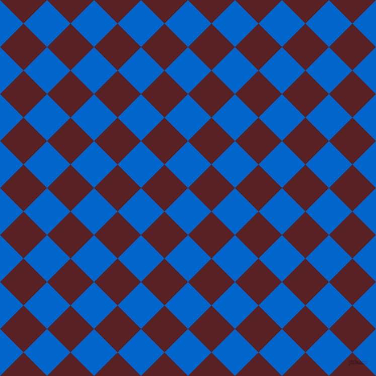 45/135 degree angle diagonal checkered chequered squares checker pattern checkers background, 66 pixel squares size, , Navy Blue and Burnt Crimson checkers chequered checkered squares seamless tileable
