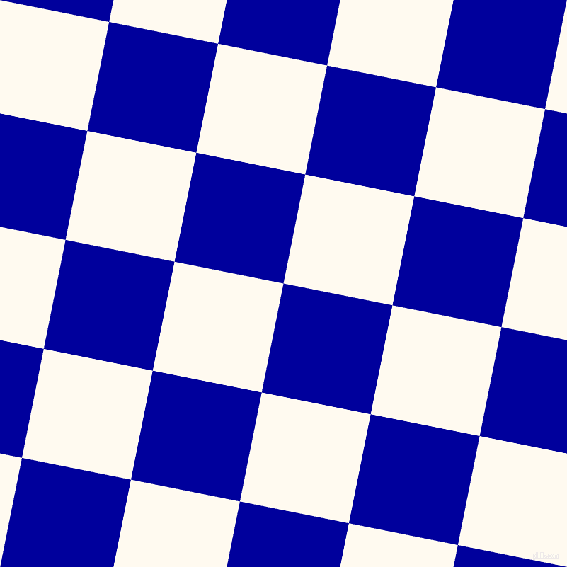 79/169 degree angle diagonal checkered chequered squares checker pattern checkers background, 157 pixel squares size, , New Midnight Blue and Floral White checkers chequered checkered squares seamless tileable
