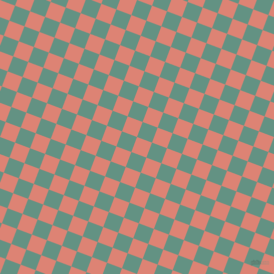 69/159 degree angle diagonal checkered chequered squares checker pattern checkers background, 32 pixel squares size, , New York Pink and Patina checkers chequered checkered squares seamless tileable