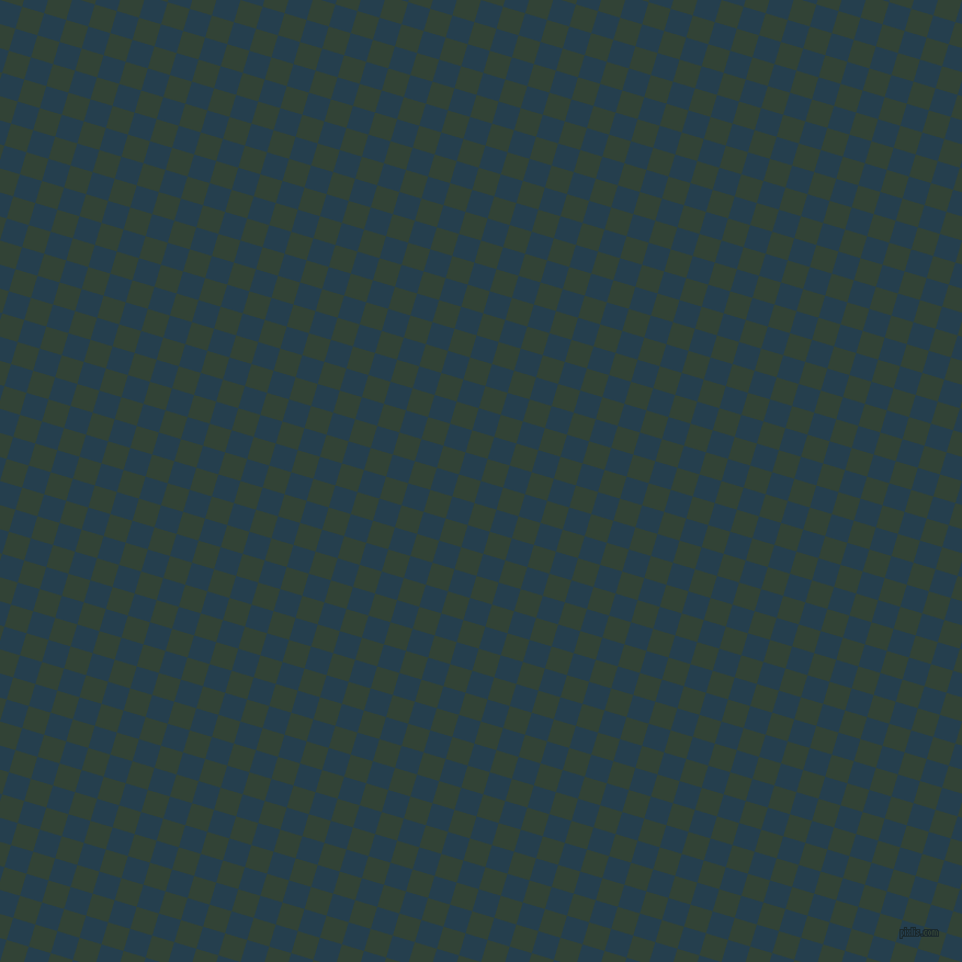 73/163 degree angle diagonal checkered chequered squares checker pattern checkers background, 21 pixel squares size, , Nile Blue and Timber Green checkers chequered checkered squares seamless tileable