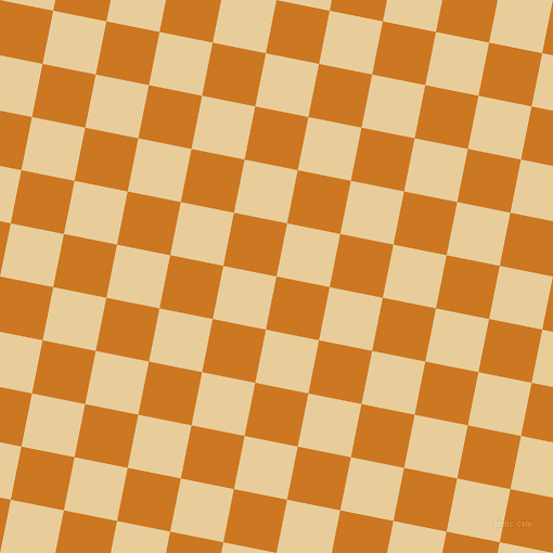 79/169 degree angle diagonal checkered chequered squares checker pattern checkers background, 50 pixel square size, , Ochre and Chamois checkers chequered checkered squares seamless tileable