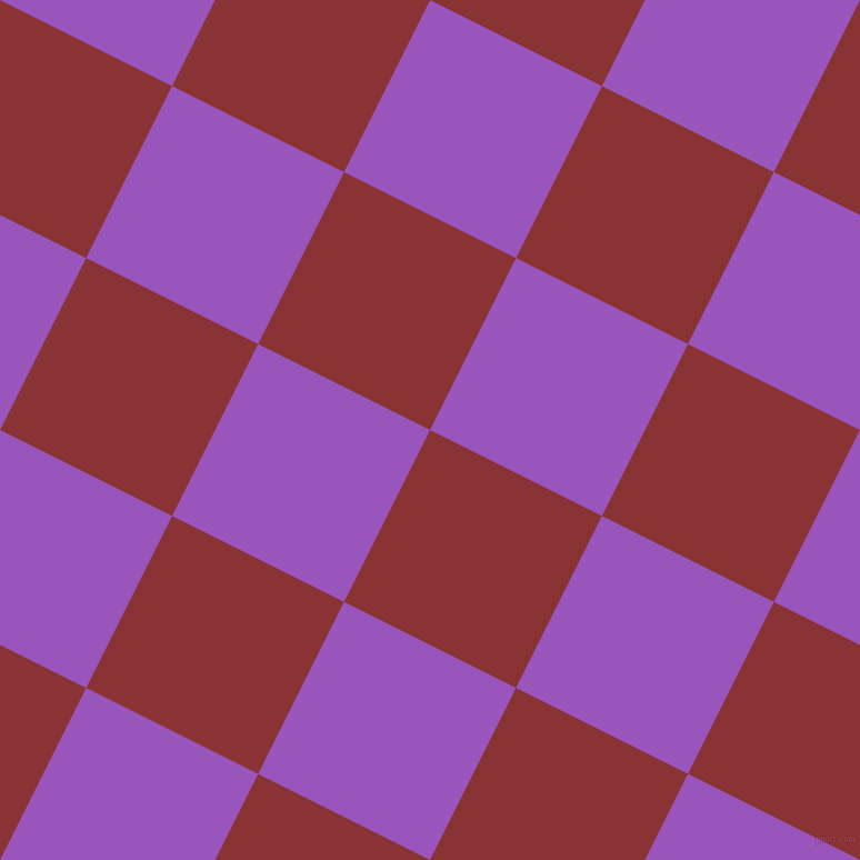 63/153 degree angle diagonal checkered chequered squares checker pattern checkers background, 173 pixel square size, , Old Brick and Deep Lilac checkers chequered checkered squares seamless tileable