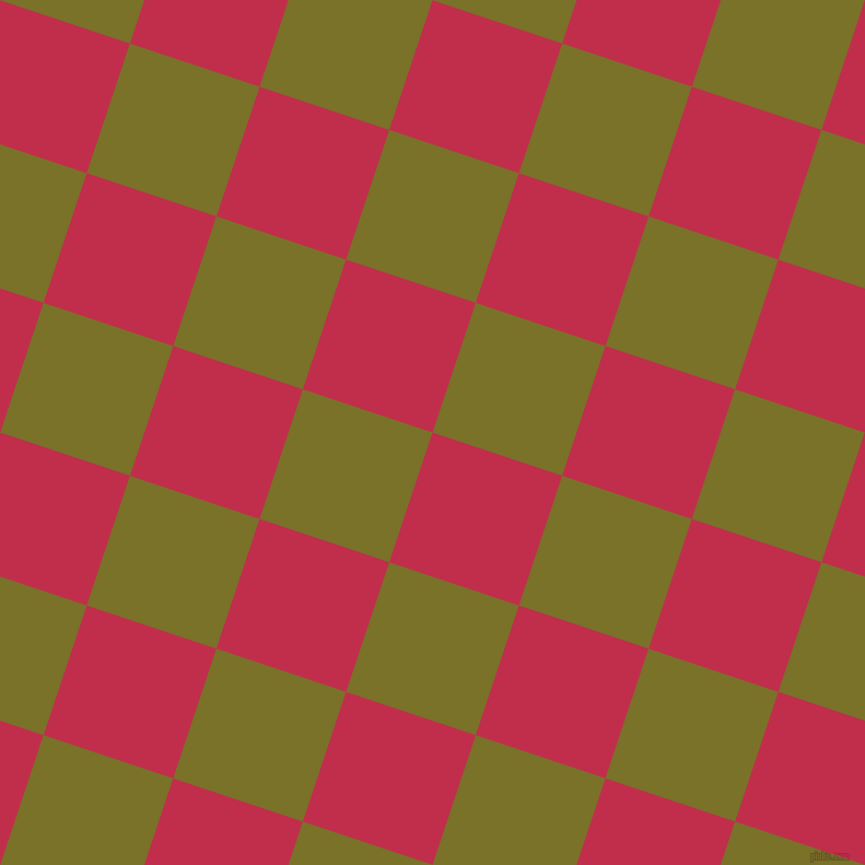 72/162 degree angle diagonal checkered chequered squares checker pattern checkers background, 125 pixel square size, , Old Rose and Pesto checkers chequered checkered squares seamless tileable