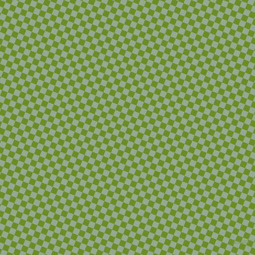 68/158 degree angle diagonal checkered chequered squares checker pattern checkers background, 12 pixel square size, , Olive Drab and Mantle checkers chequered checkered squares seamless tileable