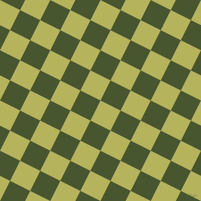 63/153 degree angle diagonal checkered chequered squares checker pattern checkers background, 78 pixel squares size, , Olive Green and Clover checkers chequered checkered squares seamless tileable