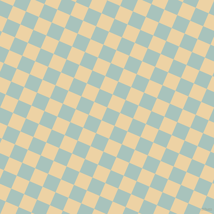 67/157 degree angle diagonal checkered chequered squares checker pattern checkers background, 48 pixel squares size, , Opal and Dairy Cream checkers chequered checkered squares seamless tileable