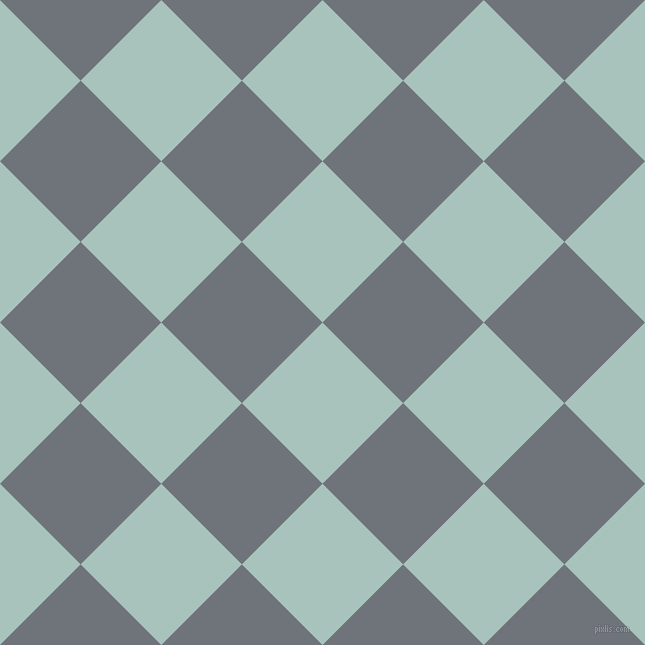 45/135 degree angle diagonal checkered chequered squares checker pattern checkers background, 114 pixel squares size, , Opal and Raven checkers chequered checkered squares seamless tileable