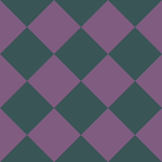 45/135 degree angle diagonal checkered chequered squares checker pattern checkers background, 131 pixel square size, , Oracle and Trendy Pink checkers chequered checkered squares seamless tileable