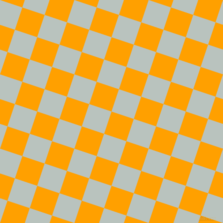 72/162 degree angle diagonal checkered chequered squares checker pattern checkers background, 47 pixel squares size, , Orange Peel and Tiara checkers chequered checkered squares seamless tileable