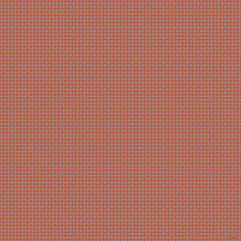 45/135 degree angle diagonal checkered chequered squares checker pattern checkers background, 8 pixel square size, , Orange Red and Shakespeare checkers chequered checkered squares seamless tileable