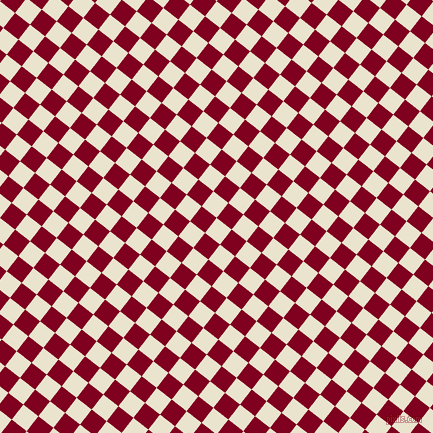 52/142 degree angle diagonal checkered chequered squares checker pattern checkers background, 19 pixel squares size, Orange White and Burgundy checkers chequered checkered squares seamless tileable