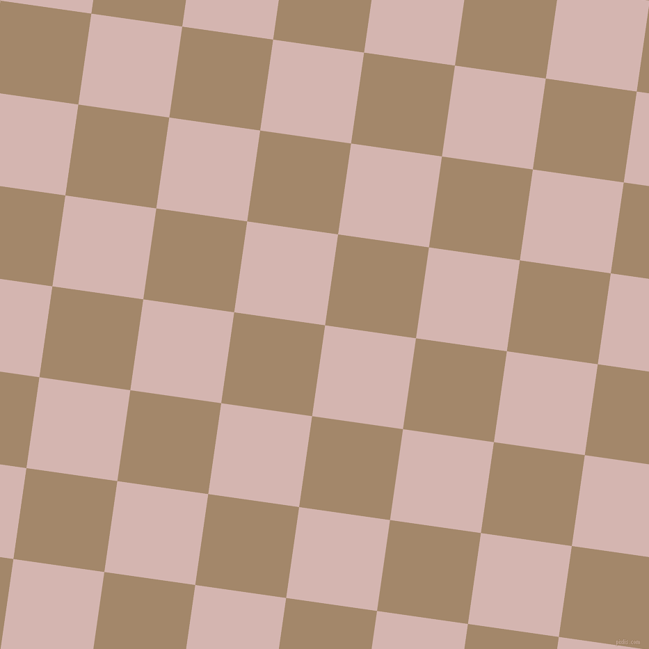 82/172 degree angle diagonal checkered chequered squares checker pattern checkers background, 132 pixel squares size, , Oyster Pink and Sandal checkers chequered checkered squares seamless tileable