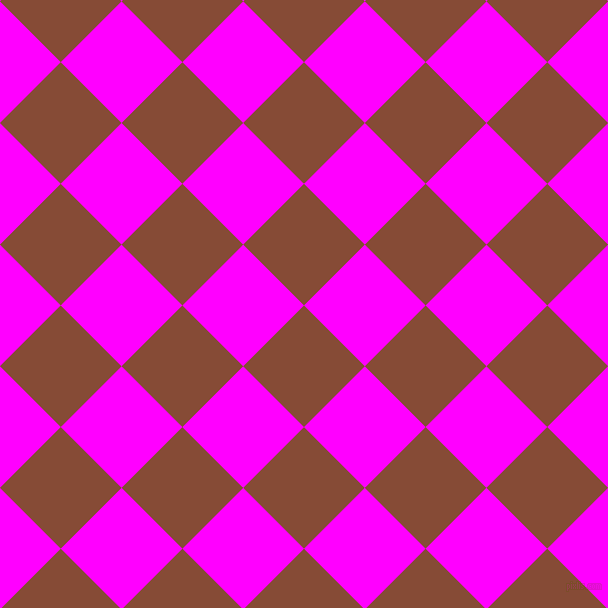 45/135 degree angle diagonal checkered chequered squares checker pattern checkers background, 86 pixel squares size, , Paarl and Magenta checkers chequered checkered squares seamless tileable
