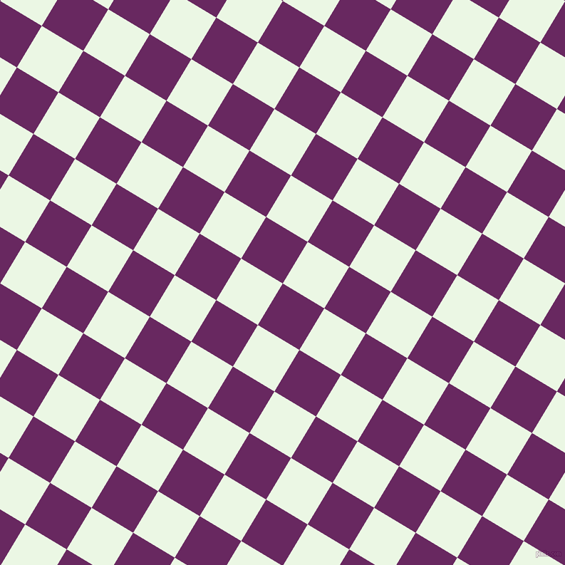 59/149 degree angle diagonal checkered chequered squares checker pattern checkers background, 68 pixel square size, , Palatinate Purple and Panache checkers chequered checkered squares seamless tileable