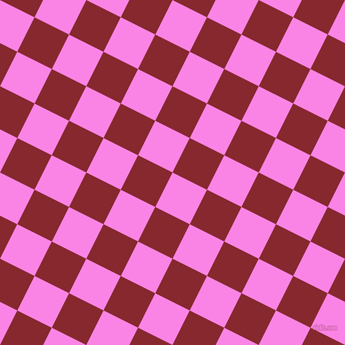 63/153 degree angle diagonal checkered chequered squares checker pattern checkers background, 56 pixel squares size, , Pale Magenta and Flame Red checkers chequered checkered squares seamless tileable