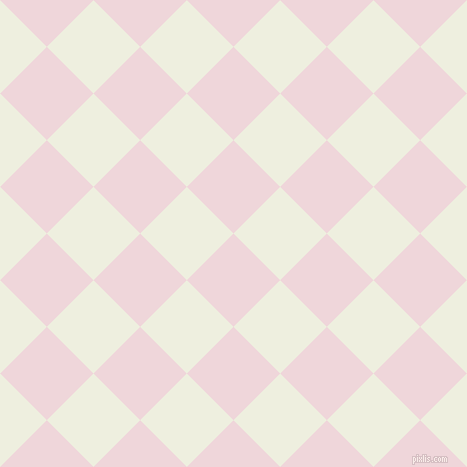 45/135 degree angle diagonal checkered chequered squares checker pattern checkers background, 66 pixel square size, , Pale Rose and Sugar Cane checkers chequered checkered squares seamless tileable