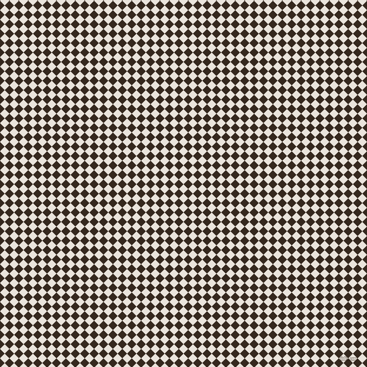 45/135 degree angle diagonal checkered chequered squares checker pattern checkers background, 13 pixel squares size, , Pampas and Cocoa Brown checkers chequered checkered squares seamless tileable