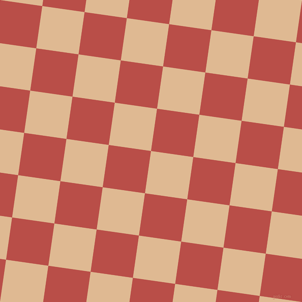 82/172 degree angle diagonal checkered chequered squares checker pattern checkers background, 84 pixel square size, Pancho and Chestnut checkers chequered checkered squares seamless tileable