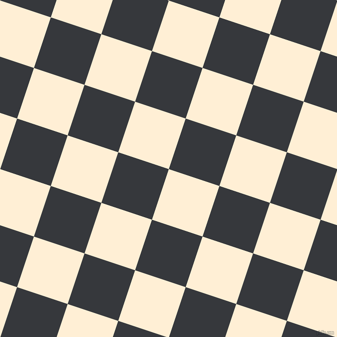 72/162 degree angle diagonal checkered chequered squares checker pattern checkers background, 109 pixel squares size, , Papaya Whip and Vulcan checkers chequered checkered squares seamless tileable