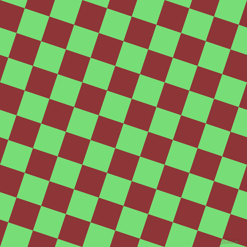 72/162 degree angle diagonal checkered chequered squares checker pattern checkers background, 51 pixel squares size, , Pastel Green and Well Read checkers chequered checkered squares seamless tileable