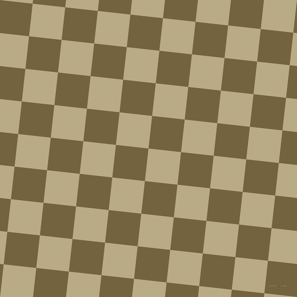 84/174 degree angle diagonal checkered chequered squares checker pattern checkers background, 67 pixel squares size, , Pavlova and Yellow Metal checkers chequered checkered squares seamless tileable