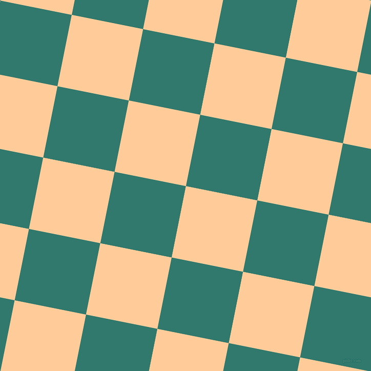 79/169 degree angle diagonal checkered chequered squares checker pattern checkers background, 142 pixel squares size, , Peach-Orange and Genoa checkers chequered checkered squares seamless tileable
