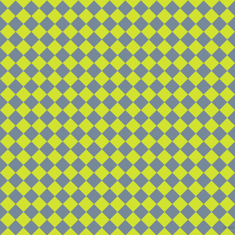 45/135 degree angle diagonal checkered chequered squares checker pattern checkers background, 38 pixel squares size, , Pear and Light Slate Grey checkers chequered checkered squares seamless tileable