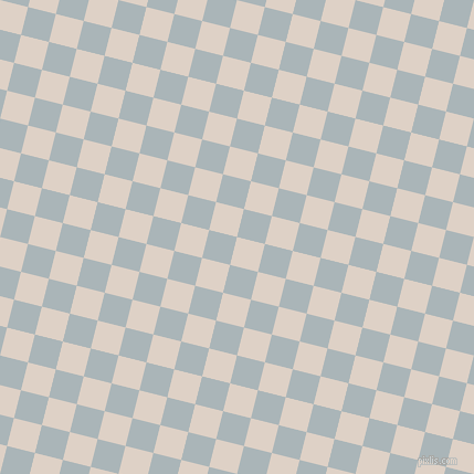 76/166 degree angle diagonal checkered chequered squares checker pattern checkers background, 26 pixel square size, , Pearl Bush and Casper checkers chequered checkered squares seamless tileable