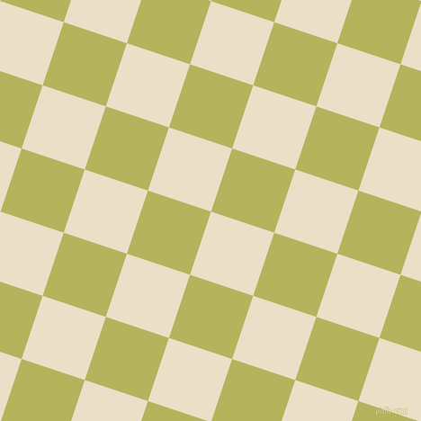 72/162 degree angle diagonal checkered chequered squares checker pattern checkers background, 74 pixel squares size, , Pearl Lusta and Olive Green checkers chequered checkered squares seamless tileable